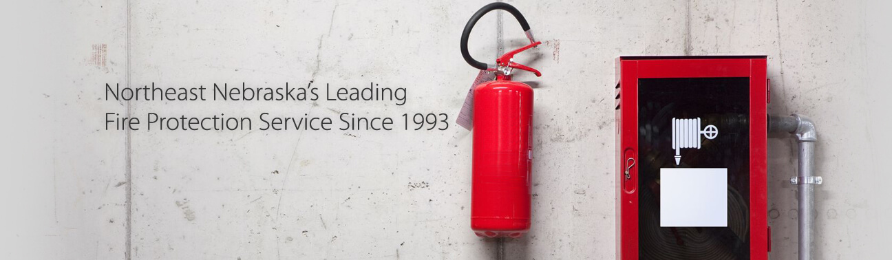 Northeast Nebraska's Leading Fire Protection Service Since 1993